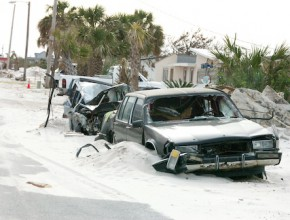 Hurricane Ivan Pensacola Florida 2004